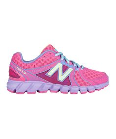 b8374564f5aaf6 Take a look at this Pink   Purple Lace-Up KJ750 Running Shoe on zulily