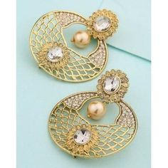 Jewelry & Watches Supply Ethnic Indian Bollywood Gold Tone Polki Rajwadi Mint Green Earring & Rings Combo Up-To-Date Styling Fashion Jewelry