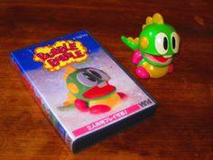 original Bubblun figure taito ving 1990 Bubble Bobble