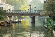 San Antonio River Walk What a gorgeous morning along the river walk in San Antonio!  nadeenflynn.com