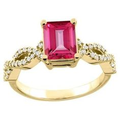https://ariani-shop.com/14k-white-yellow-gold-yellow-gold-natural-pink-topaz-ring-octagon-8x6mm-diamond-accent-5-16-inch-wide-sizes-5--10 14K White/Yellow Gold/Yellow Gold Natural Pink Topaz Ring Octagon 8x6mm Diamond Accent 5/16 inch wide, sizes 5 - 10