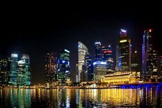 Commercial district Singapore