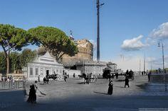 Lungotevere davanti a Castel Sant'Angelo