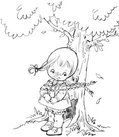 Coloring Book~tina coloring book - Bonnie Jones - Álbuns da web do Picasa Coloring Pages For Girls, Coloring Book Pages, Coloring Sheets, Little Charmers, Easy Christmas Crafts, Cute Illustration, Line Drawing, Paper Dolls, Embroidery Patterns