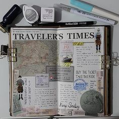 18.10 - 19.10.2015 #midoritravelersnotebook #journallover #journal #stationeryaddict #planneraddictmalaysia #travelersfactory # traveler's times #toolstoliveby #日付シート #日记 #手帐好朋友 #手帐生活 #文具控 #文房具 by ngsiewwee