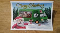Food trucl Christmas card