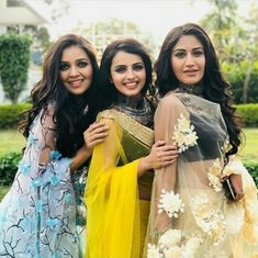 Shrenu Parikh & Mansi Srivastava are jealous of Surbhi Chandna for THIS reason Indian Tv Actress, Beautiful Indian Actress, Indian Actresses, Bollywood Actors, Bollywood Celebrities, Celebrities Fashion, Indian Dress Up, Shrenu Parikh, Surbhi Chandna