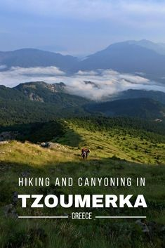 Get inspired for your next trip to Tzoumerka in Northern Greece, full of hiking, canyoning and awesome mountain views! tips for camping, hiking virginia, hiking legs Greece Itinerary, Greece Travel, Backpacking Europe, Backpacking Meals, One Summer, Best Hikes, European Travel, Travel Europe, Greek Islands