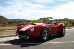 1967 SHELBY COBRA RE-CREATION ROADSTER