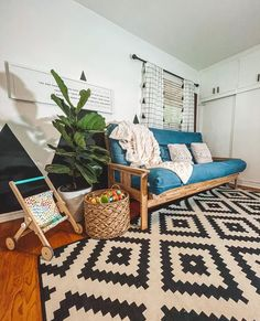 """The Futon Shop on Instagram: """"Create Every Bedroom In Your Home As A Safe And Healthy Sanctuary! 📷 @hellolittlesblog . . Learn more about our futons . . . . .…"""" Futon Covers, Futons, Animal Print Rug, This Is Us, Learning, Bedroom, Create, Healthy"""