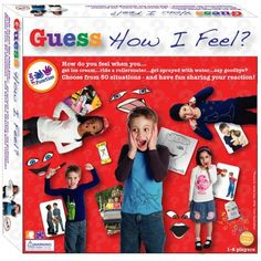 Guess How I Feel? Game | Social Skills Activities Game | Games for Autistic Children $13.99 #funandfunction #emotions #socialskills