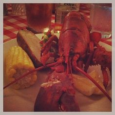Lobster night at the Tyler Place. Yum! #tylerplace #vermont #allinclusive