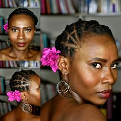 Girls Natural Hairstyles, Plaits Hairstyles, African Hairstyles, Natural Hair Styles, Short Hair Styles, African Threading, Hair Threading, Tribal Hair, Kid Braid Styles