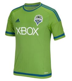 Show off your support for the Seattle Sounders FC in classic style! This Primary Replica jersey from adidas features embroidered graphics and a reinforced taped collar for the ultimate Seattle Sounders FC fan who wants it all! Soccer Kits, Football Kits, Xbox, Seattle Sounders, Sports Fan Shop, Sports Shirts, Adidas Men, Mens Tops, Green