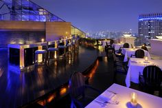 At the Breeze | Fine Dining & Soaring Luxury. Lebua at State Tower Hotel & Resort, Bangkok,Thailand. By Hotelied.