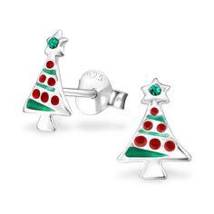 Crystal Ear Studs ES-APS1409-E EME/32930  #christmasjewelry #silverjewelry #sterlingsilver #jewelrywholesale #elf925 #christmasspirit #christmas #christmasgifts #chirstmasideas #wholesalejewelry #wholesalesilverjewelry #december #festive #festival #hohoho #santa #santaclaus #deer #reindeer #snowman #winter #snowflake
