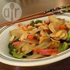 Cashew and vegetable stir fry @ allrecipes.co.uk