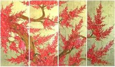Image result for lacquer paintings traditional vietnamese