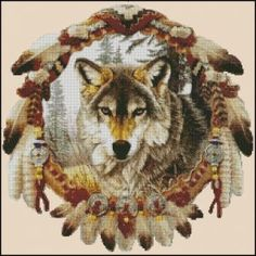 FREE WOLF CROSS STITCH PATTERNS – 1000 FREE PATTERNS