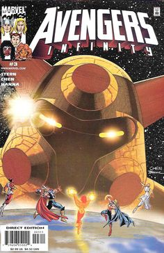 Avengers Infinity # 3 Marvel Comics