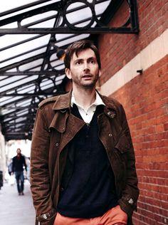 David Tennant /// Matt Holyoak for Radio Times