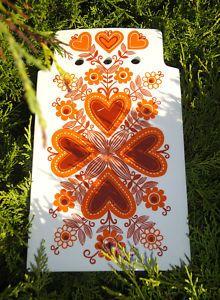 Arabia Finland cheeseboard - Pattern Sirpa!