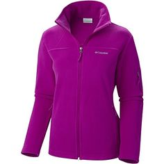 Columbia Women's Plus-Size Fast Trek II Full Zip Fleece Jacket, Bright Plum, 2X ---> FIND OUT ADDITIONAL DETAILS @: http://www.best-outdoorgear.com/columbia-womens-plus-size-fast-trek-ii-full-zip-fleece-jacket-bright-plum-2x/