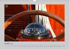 """Kalender: """"Maritimes  Meer"""" von Carina-Fotografie - Calvendo.de Steuerrad auf einem Segelschiff (Vindö)"""