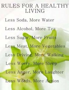 Quotes On Healthy Living The road to health