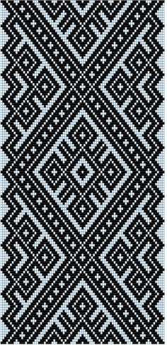 Awesome Most Popular Embroidery Patterns Ideas. Most Popular Embroidery Patterns Ideas. Tapestry Crochet Patterns, Bead Loom Patterns, Weaving Patterns, Geometric Patterns, Inkle Weaving, Tablet Weaving, Bead Weaving, Loom Bands, Crochet Chart