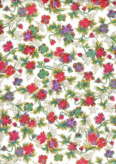 Japanese Yuzen Chiyogami Washi Paper (Floral Design 28) A top quality A4 sheet of beautiful Chiyogami Paper, ideal for invitations and