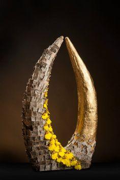Gold vs. Nature, published in International Flower Art