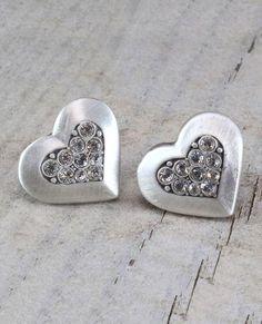 Precious Metals, Ear Piercings, Swarovski Crystals, Jewlery, Cufflinks, Sparkle, Valentines, Stud Earrings, Pearls
