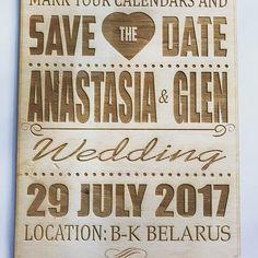 Гравировка к свадьбе Анастасии и Глена😊💑🥂