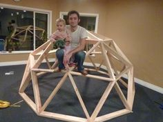 How To Create Your Own Geodesic Dome   Green House And Have Your Own 'Organic Food Factory' Providing You and Your Family With  Incredible Food, Year Round, Even In The Dead of Winter! #greenhouse Dome Tent, Building A Chicken Coop, Dome House, Winter Greenhouse, Geodesic Dome Greenhouse, Greenhouse Plans, Dome Structure, Garden Structures, Building Plans