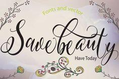 Savebeauty by yanindesign on @creativemarket
