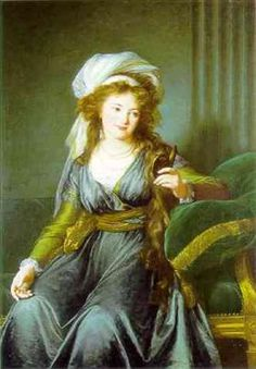 Portrait of Countess Catherine Skavronskaya - Louise Elisabeth Vigee Le Brun