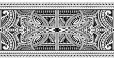 Polynesian ornamental tattoo. Polynesian style sleeve tattoo ornament stock illustration Polynesian Tattoo Sleeve, Polynesian Tattoo Designs, Sleeve Tattoos, Half Sleeve Tattoo Template, Maori Tattoo Meanings, Tattoo Pierna, Wrist Band Tattoo, Tattoo Brazo, Tiki Mask