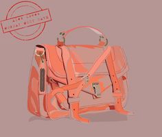 Loving the sketch !! Miss doing bag sketches for concept/season boards!     The PS1 by Ruby Browning