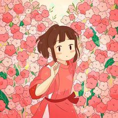 Studio Ghibli Art, Studio Ghibli Movies, Kawaii Drawings, Cute Drawings, Animes Wallpapers, Cute Wallpapers, Personajes Studio Ghibli, Foto Poster, Japon Illustration