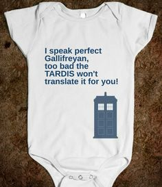 Gallifreyan Baby...my child will have this someday