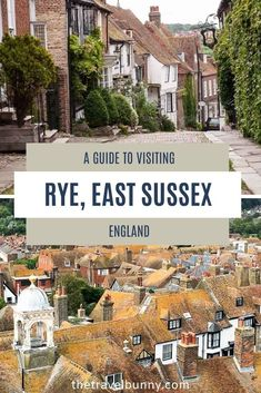 A guide to visiting Rye in East Sussex, England. What to see and do in Rye, East Sussex, with tips on the best things to see, do, eat and drink and where to stay for a perfect weekend break to Rye, East Sussex #Rye #EastSussex #England #weekendbreak Travel Advice, Travel Tips, Uk Holidays, Weekend Breaks, East Sussex, Rye, Wanderlust Travel, Holiday Destinations, Trip Planning