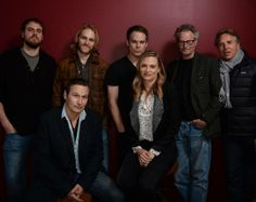 Don Johnson, Wyatt Russell, Nick Damici, Michael C. Hall, Vinessa Shaw and Sam Shepard pose for a portrait during the 2014 Sundance Film Festival at the Getty Images Portrait Studio at the Village At The Lift on January 18, 2014 in Park City, Utah.
