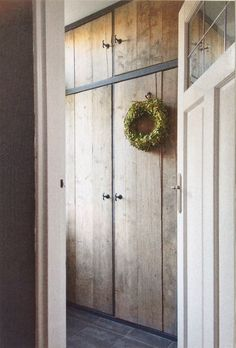 Wardrobe Doors, Built In Wardrobe, Cottage Style Doors, Built In Cupboards, Fitted Wardrobes, Home Office Space, Diy Wood Projects, My Dream Home, Tall Cabinet Storage