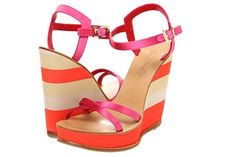 STYLEeGRACE ❤'s these Cesare Paciotti Wedge Sandals!