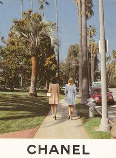 Chanel Spr/Sum 1996 - Shalom Harlow & Amber Valletta by Karl Lagerfeld, vintage street style Boujee Aesthetic, Aesthetic Collage, Aesthetic Vintage, Aesthetic Photo, Aesthetic Pictures, Simple Aesthetic, Aesthetic Beauty, Aesthetic Outfit, Aesthetic Bedroom
