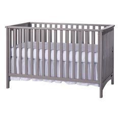 London 3 in 1 Crib in Gray   Nebraska Furniture Mart