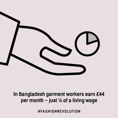 In Bangladesh garment workers earn of a living wage Fast Fashion, Fashion Mode, Slow Fashion, Fashion Trends, Sustainable Clothing, Sustainable Fashion, Sustainable Living, Sustainable Textiles, Sustainable Style