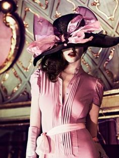 Belle de Jour...love the hat!