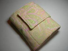 Paisley Pink & PUL Travel Diaper Changing by BabblesBubblesBows, $25.00